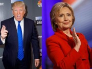 """Thời trang - """"Cuộc chiến"""" xanh - đỏ lạ lùng đằng sau sắc áo của Trump và Hillary"""
