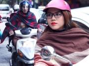 Bạn trẻ - Cuộc sống - Ảnh tình yêu thi vị trong cái lạnh đầu mùa ở Thủ đô