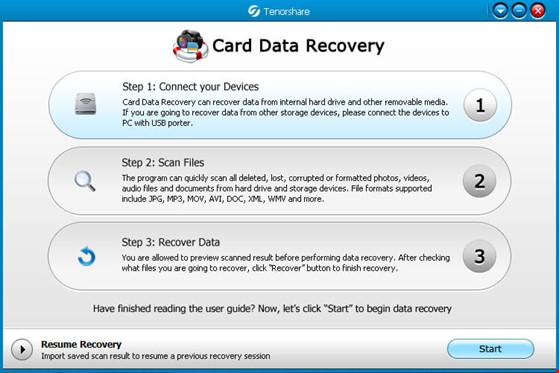 Khôi phục dữ liệu trong USB và thẻ nhớ đã bị xóa - 1