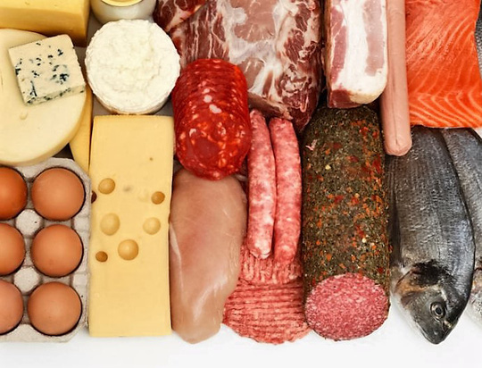 Ăn nhiều đạm giúp giảm cân - 1
