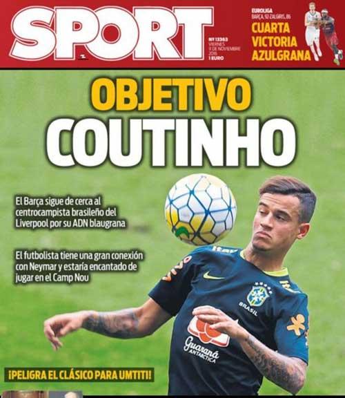 Mê mẩn Coutinho, Barca sẽ phá két vào hè 2017