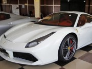 """Cường  """" Đô la """"  đưa đón Hạ Vi bằng siêu xe Ferrari 488GTB độ"""