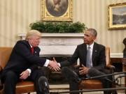 Thế giới - Cuộc gặp lịch sử 90 phút giữa Trump và Obama ở Nhà Trắng