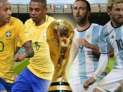 Bóng đá - Chi tiết Brazil - Argentina: Neymar và đồng đội phô diễn (KT)