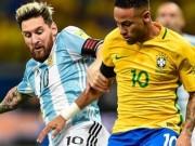 """Bóng đá - Clip Brazil đấu Argentina: Ngày Neymar """"che mờ"""" Messi"""
