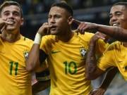Bóng đá - Góc chiến thuật Brazil - Argentina: Bộ ba huyền ảo