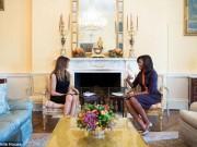 """Thế giới - Vợ Trump gặp vợ Obama, báo chí bị """"cấm cửa"""""""