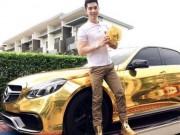 Bạn trẻ - Cuộc sống - Thiếu gia với siêu xe dát vàng khiến triệu cô gái mơ ước