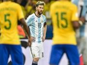 Bóng đá - Argentina thua thảm Brazil: Messi bị chỉ trích kịch liệt