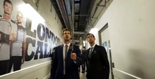 """Tin thể thao 12/11: Murray, Djokovic thử """"hóa tượng"""""""