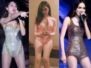 Ca nhạc - MTV - Choáng với sở thích đi diễn như đi... bơi của Hương Giang idol