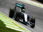 Thể thao - F1, đua thử Brazilian GP: Red Bull bám đuổi Mercedes