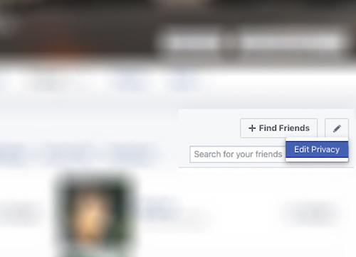 Cách ẩn danh sách bạn bè Facebook - 1