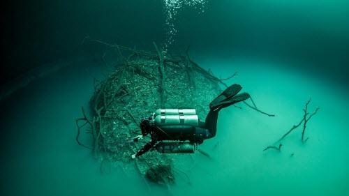 Khám phá hồ nước ngầm bí ẩn ở mexico - 4