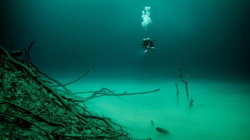 Khám phá hồ nước ngầm bí ẩn ở mexico - 5
