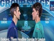 Thể thao - Tennis, ATP Finals ngày 1: Djokovic quyết đòi lại số 1