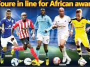 Bóng đá - Hay nhất châu Phi: Yaya Toure thất thế, Mahrez đua Aubameyang