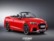 Tin tức ô tô - Audi RS5 Cabriolet 2018 lộ ảnh thiết kế cực đẹp