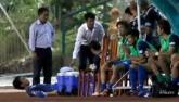 HLV Hữu Thắng hành động bất ngờ khiến đội Nhật vị nể