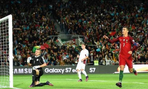 Bồ Đào Nha - Latvia: Quả penalty