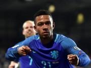 """Bóng đá - Luxembourg - Hà Lan: """"Cơn điên"""" của Depay"""
