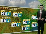 Tin tức trong ngày - Dự báo thời tiết VTV 14/11: Nắng trải khắp các vùng trên cả nước