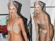 Thời trang - Mỹ nữ 41 tuổi quá trẻ và sexy với nội y mỏng manh