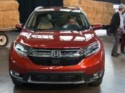 """Tin tức ô tô - Honda CR-V 2017: Êm hơn, lái """"sướng"""" hơn"""