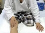 Tin tức trong ngày - Tình tiết bất ngờ vụ nhân viên y tế tự cắt chân mình