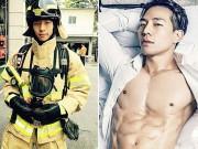 """Bạn trẻ - Cuộc sống - Chàng lính cứu hỏa """"đẹp như Bi Rain"""" khiến chị em sôi sục"""