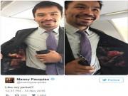 Thể thao - Tin thể thao HOT 14/11: Pacquiao mặc áo khiêu khích Mayweather