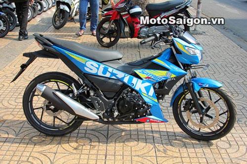 Satria F150 2016 giá 90 triệu đồng cập bến Việt Nam - 2