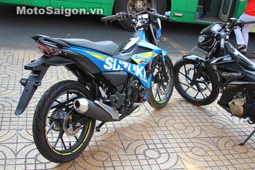 Satria F150 2016 giá 90 triệu đồng cập bến Việt Nam - 4