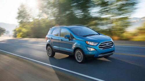 Ford EcoSport 2018 lộ diện, đẹp mắt và hiện đại hơn - 2