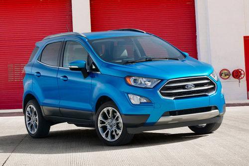 Ford EcoSport 2018 lộ diện, đẹp mắt và hiện đại hơn - 1
