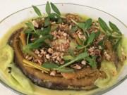 Ẩm thực - Xỉn quắc cần câu với lươn um dừa