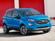 Tin tức ô tô - Ford EcoSport 2018 lộ diện, đẹp mắt và hiện đại hơn