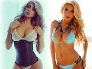 Làm đẹp - Mỹ nữ hút triệu fans nhờ vòng 3 xấp xỉ 100cm