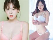 """Thời trang - Người mẫu nội y """"chân ngắn"""" nóng bỏng nhất xứ Hàn"""