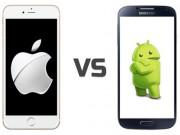 iOS vẫn được yêu thích nhiều hơn Android