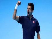 Djokovic - Raonic: Tột cùng căng thẳng (ATP Finals)