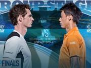 Thể thao - Tennis, ATP Finals ngày 4: Murray và áp lực đè nặng