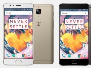 """Thời trang Hi-tech - """"Kẻ hủy diệt smartphone"""" OnePlus 3T ra mắt, giá hấp dẫn"""