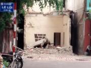 Tin tức trong ngày - Tháo dỡ nhà, một công nhân bị sàn bê tông đè chết