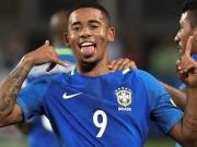 """Bóng đá - Brazil, G.Jesus: Nối gót Ro """"béo"""" rực sáng tuổi 19"""