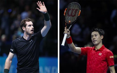 Murray - Nishikori: 3 set giàu cảm xúc (ATP Finals)