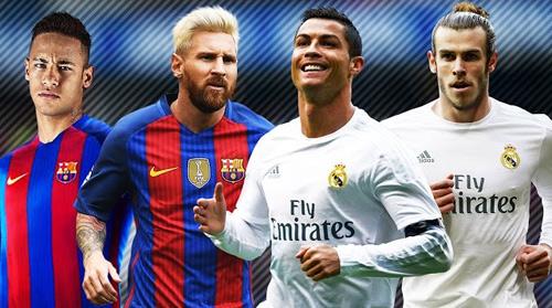 Cầu thủ hay nhất năm: Neymar gần Messi, CR7 ngang Bale