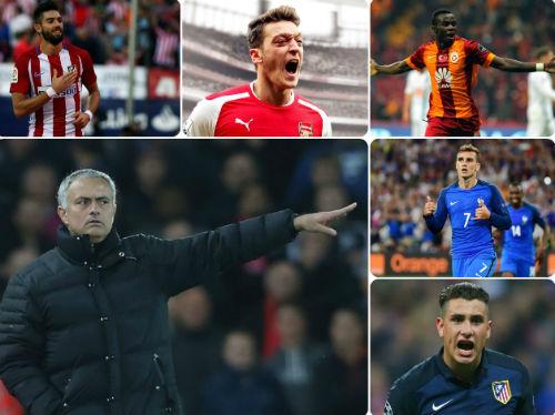 Mourinho đang có dự tính và nhắm đến 5 ngôi sao nặng ký này về cho MU