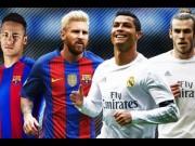 Bóng đá - Cầu thủ hay nhất năm: Neymar gần Messi, CR7 ngang Bale