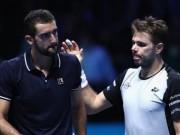 Wawrinka - Cilic: So bản lĩnh 2 loạt đấu súng (ATP Finals)